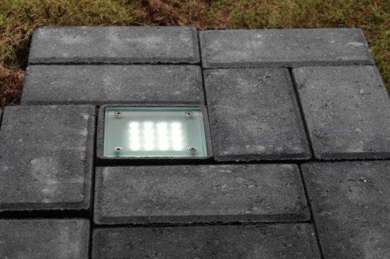 Featured Led Brick Light at gardenponds.ie