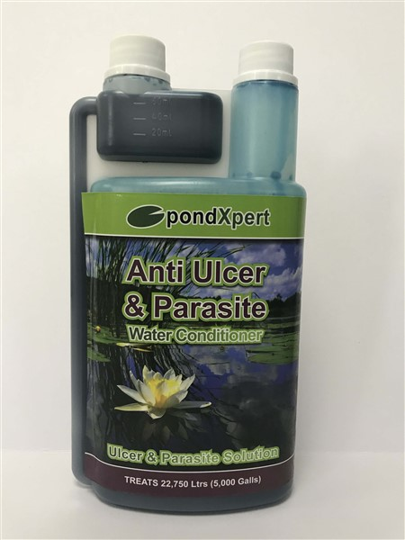 ANTI ULCER AND PARASITE 1000ML POND TREATMENT