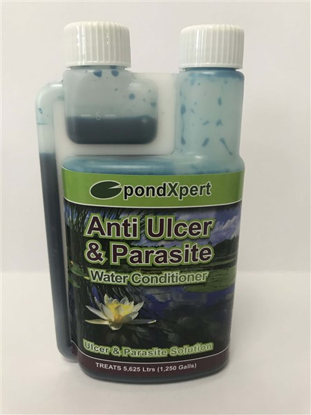 ANTI ULCER AND PARASITE 250ML POND TREATMENT